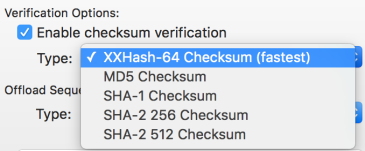 checksum-menu