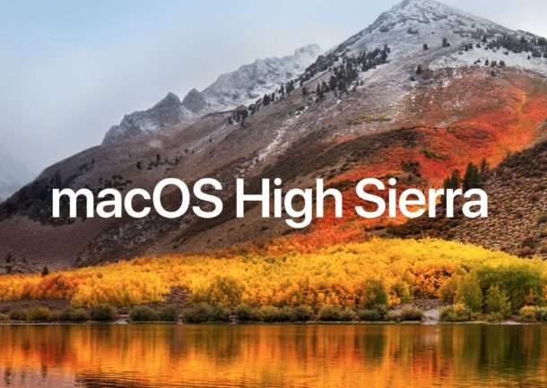 macOS High Sierra – How does it affect our workflow
